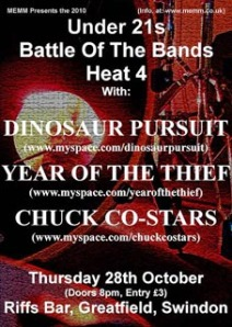 MEMM Battle of the Bands Heat 4 Poster