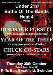 MEMM Battle of the Bands Heat 4 Poster
