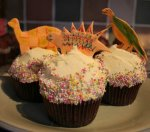 Dinosaur Cupcakes or possibly Muffins