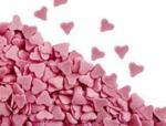 Pink Heart Sprinkles