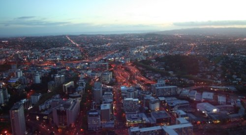 View From Sky Tower, Aukland; New Zealand
