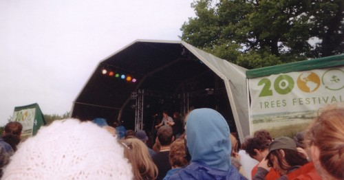 Main stage, 2000Trees